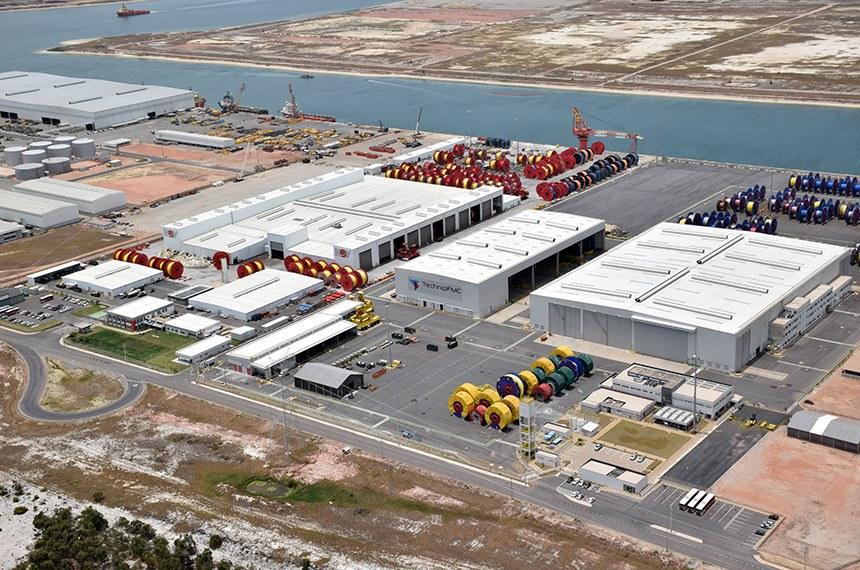 Porto do Açu, em São João da Barra (RJ), uma das ZPEs (Zonas de Processamento de Exportação) brasileira
