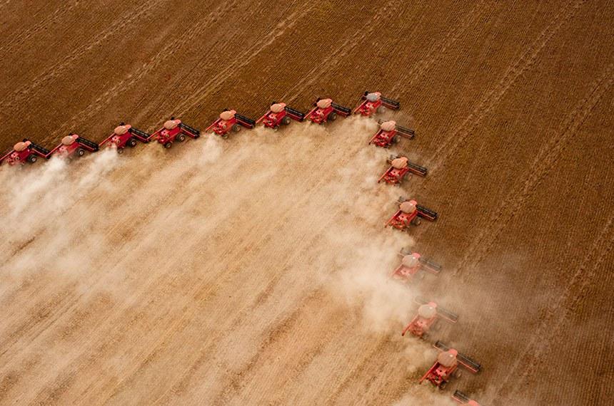 11.01.2019 Colheita de soja em Mato Grosso