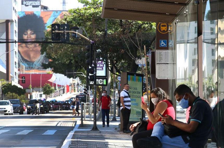 São Paulo SP 04 05 2020- A partir da proxima quinta feira será obrigatorio uso de mascara em toda as cidades do estado de  São Paulo  A informação foi dada hoje (4) pelo governador João Doria.fot Rovena Rosa/Agencia Brasil