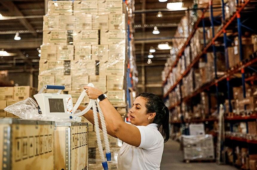 Recife – PCR compra mais de dez mil equipamentos médico-hospitalares para leitos de pacientes com Covid-19