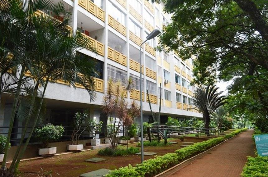 Apartamento na 106 Norte bloco E, em Brasília, que irá à leilão pela União.