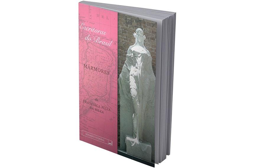 O livro de Francisca Júlia da Silva (1871-1920), faz parte da coleção Escritoras do Brasil, organizada pela Biblioteca do Senado para reeditar obras em domínio público