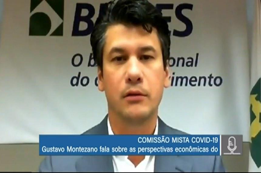 Na reunião com a comissão mista da Covid-19, Gustavo Montezano reconheceu que o dinheiro não chega a algumas empresas e que a pandemia deixou mais latente o problema da restrição de crédito