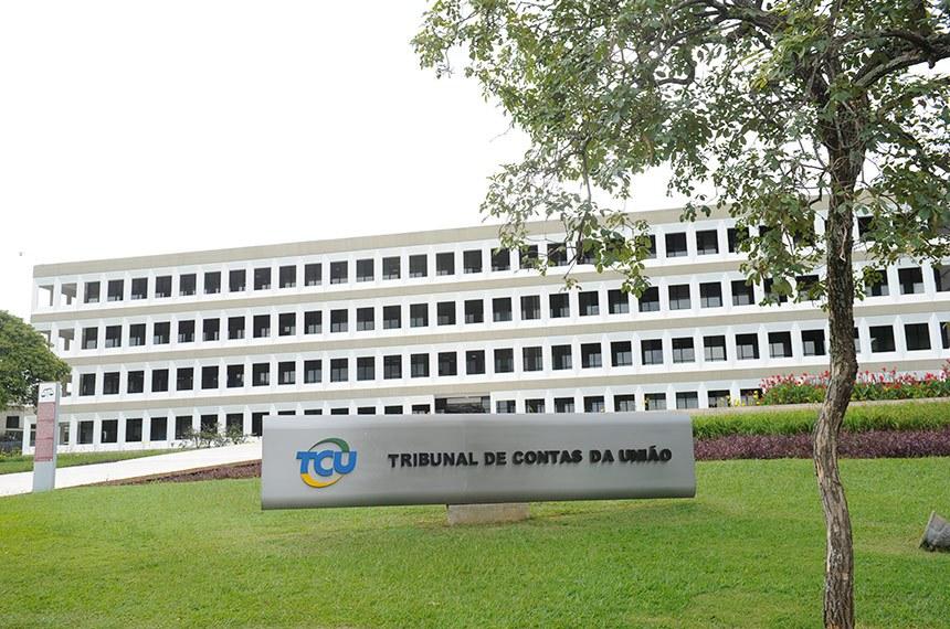 Vista externa (fachada) do prédio do Tribunal de Contas da União - TCU.  Foto: Leopoldo Silva/Agência Senado