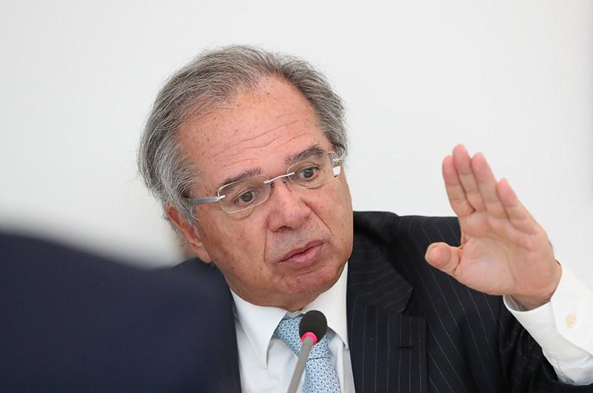 Ministro Paulo Guedes fala à comissão mista da Covid-19 nesta terça-feira — Senado Notícias