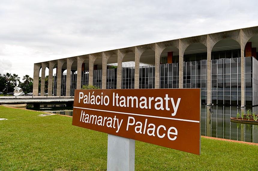 Fachada do Palácio Itamaraty.  Foto: Geraldo Magela/Agência Senado