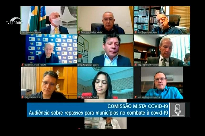 Senadores e deputados ouviram presidente da Confederação Nacional de Municípios