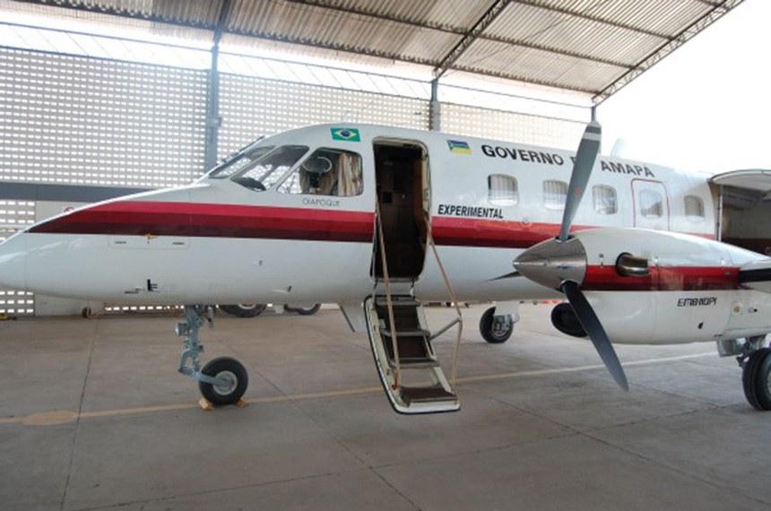 Avião do governo do Amapá: legislação atual permite a cobrança de taxas aeroportuárias dessas aeronaves, que, até a privatização dos aeroportos, eram desobrigadas de pagar tarifa à Infraero