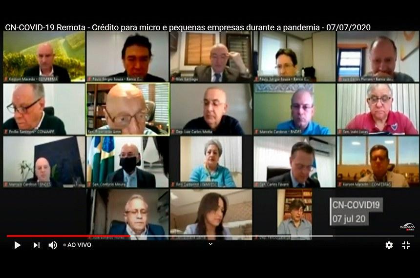 Especialistas em educação participam de audiência remota da comissão mista que acompanha as políticas públicas adotadas durante a pandemia