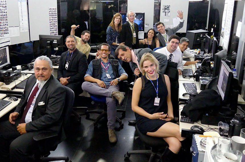 Equipe do Serviço de Fotografia do Senado Federal