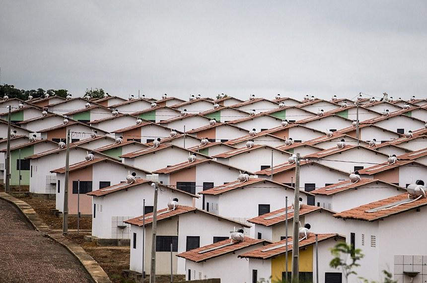 Ministra Tereza Campello na entrega de casas do Minha Casa Minha Vida. Foto: Ubirajara Machado/MDS