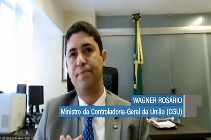 O ministro participou de audiência pública remota da comissão mista que acompanha as ações do governo no combate à pandemia de covid-19