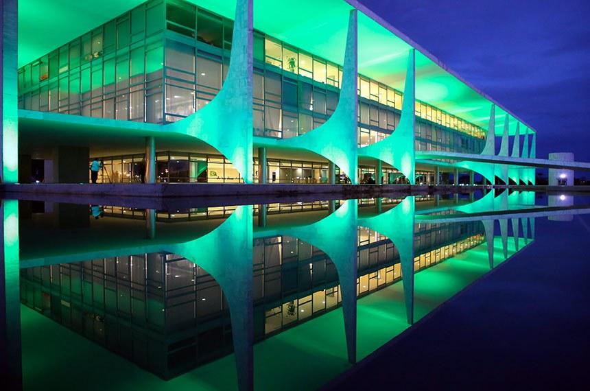 (Brasília - DF, 22/04/2020) Palácio do Planalto. Foto: Anderson Riedel/PR