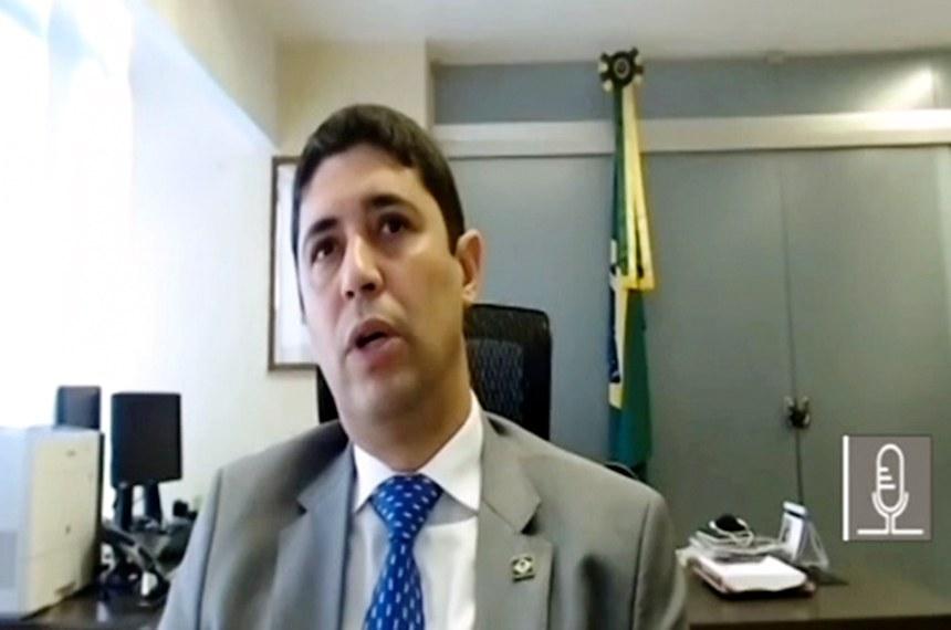 Wagner Rosário participou de audiência da comissão que acompanha as ações de enfrentamento à covid-19