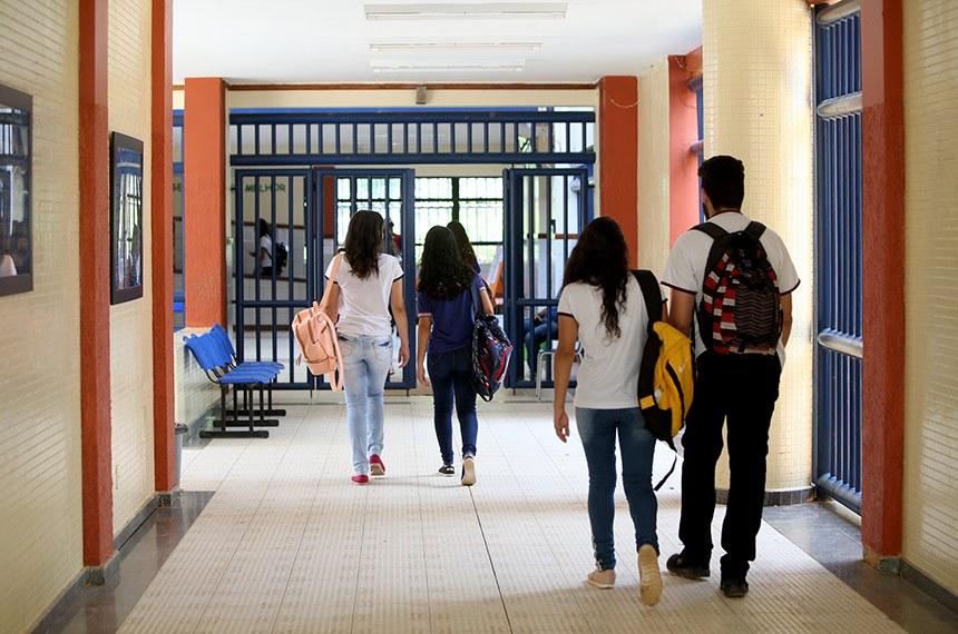 Projeto Escolas Culturais, no Colégio Modelo Luís Eduardo Magalhães, em Irecê.  Foto: Paula Fróes/GOVBA