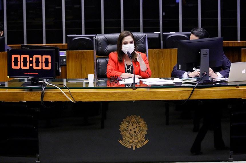 Destinada à deliberação de vetos projetos de lei do Congresso Nacional. Primeira-Secretária da Câmara, dep. Soraya Santos (PL - RJ)  Foto: Najara Araujo/Câmara dos Deputados