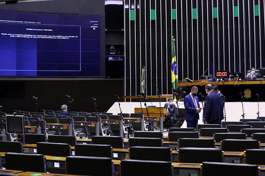 Ordem do dia. Dep. Lucas Vergilio (SOLIDARIEDADE - GO)  Foto: Maryanna Oliveira/Câmara dos Deputados