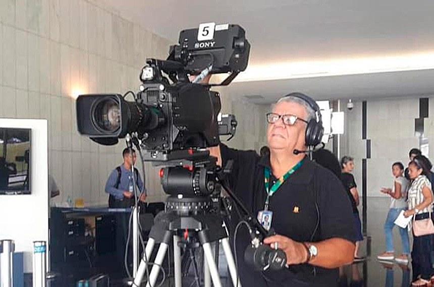 Carlos Alberto trabalhava na TV Senado desde o início da emissora, em 1997