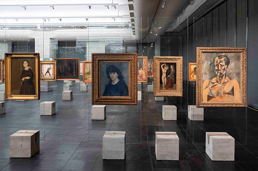 o MASP apresenta Acervo em transformação: Tate no MASP, uma espécie de exposição dentro da exposição  Crédito: Eduardo Ortega/Masp