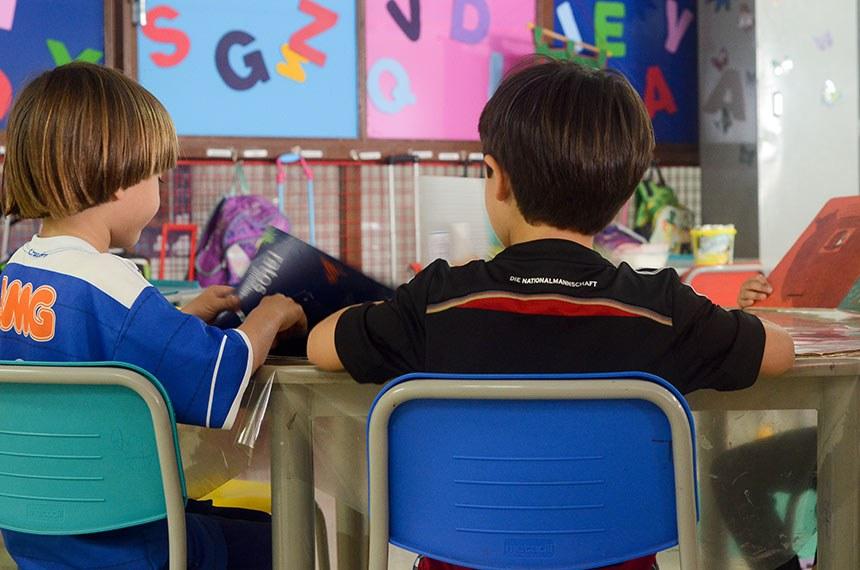 Centro de Ensino Infantil (CEI) da Associação dos Servidores do Senado Federal (Assefe).   Foto: Ana Volpe/Agência Senado