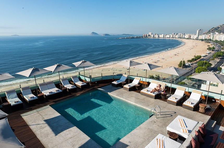 12.02.2014 hotel PORTOBAY RIO DE JANEIRO . Rooftop Pool  Flavio Veloso/Portobay Hotel
