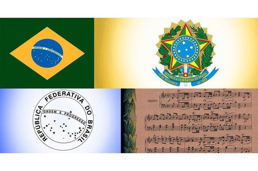 A bandeira, o brasão, o selo e o hino são celebrados no Dia dos Símbolos Nacionais, comemorado nesta sexta-feira, 18 de setembro