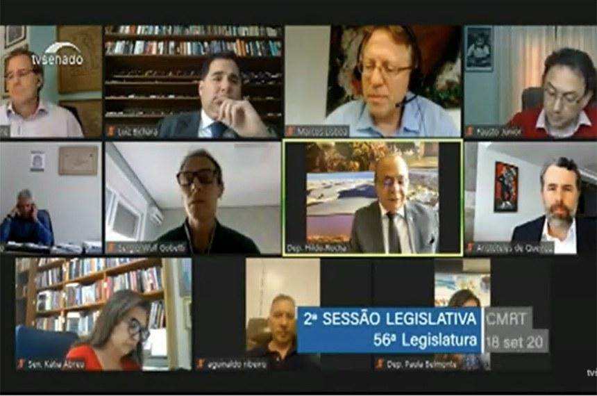 Especialistas que participaram de audiência pública nesta sexta-feira (18) na comissão mista que analisa proposta de reforma tributária do governo criticaram a legislação vigente