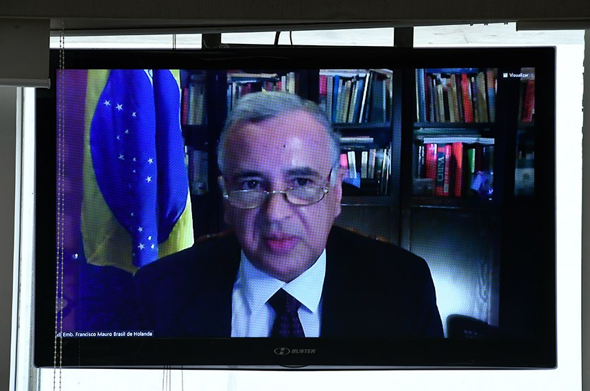 Francisco Mauro Brasil de Holanda foi sabatinado pela Comissão de Relações Exteriores na segunda-feira (21)