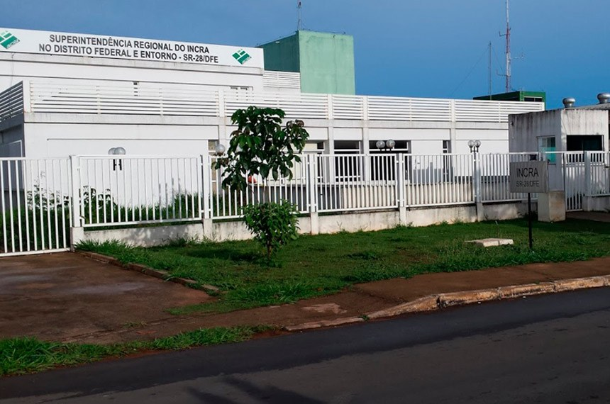 Fachada da Sede do Incra no Distrito Federal  Foto: Divulgação/Google Street View