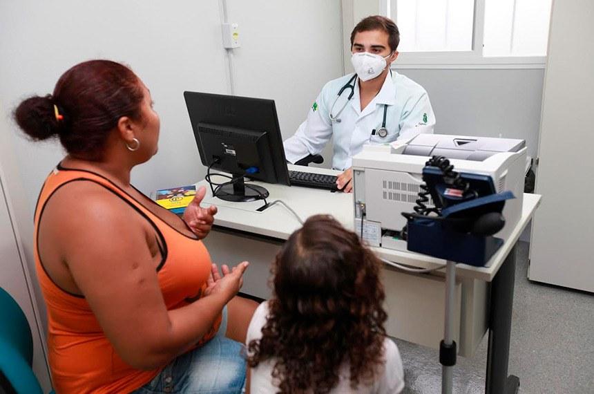 Atendimento em posto de saúde  Prefeitura de Fortaleza lança editais de concursos públicos para 117 médicos.  Foto: Prefeitura de Fortaleza