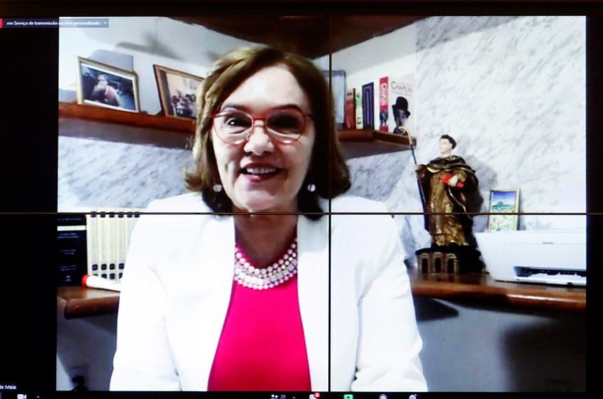 Lançamento do Outubro Rosa. Senador, Zenaide Maia  Foto: Maryanna Oliveira/Câmara dos Deputados