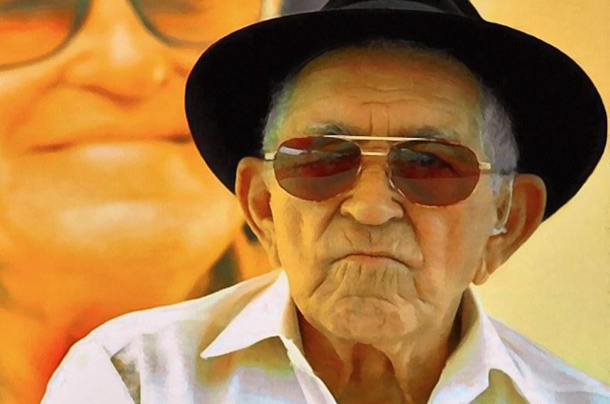 Antônio Gonçalves da Silva, mais conhecido como Patativa do Assaré (Assaré, 5 de março de 1909 — Assaré, 8 de julho de 2002), foi um poeta popular, compositor, cantor e improvisador brasileiro.  Foto: Reprodução