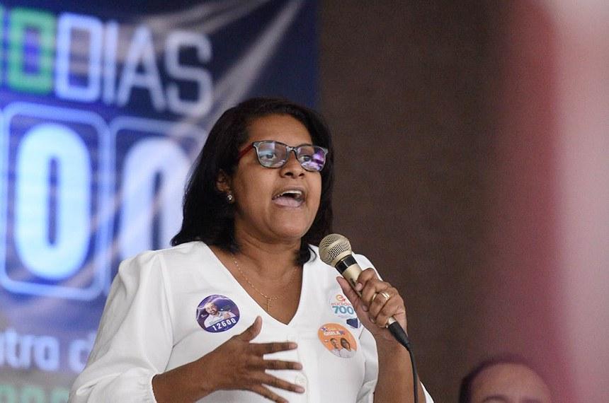 Gisela Simona, candidata a prefeita de Cuibá (MT) pelo Pros.