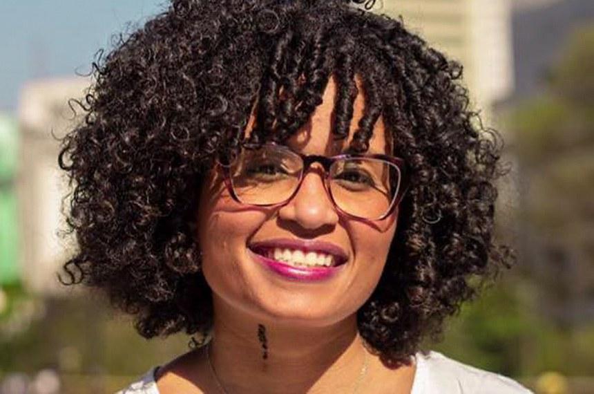 Thamires Sampaio, candidata a vereadora de São Paulo pelo PT nas eleições de 2020