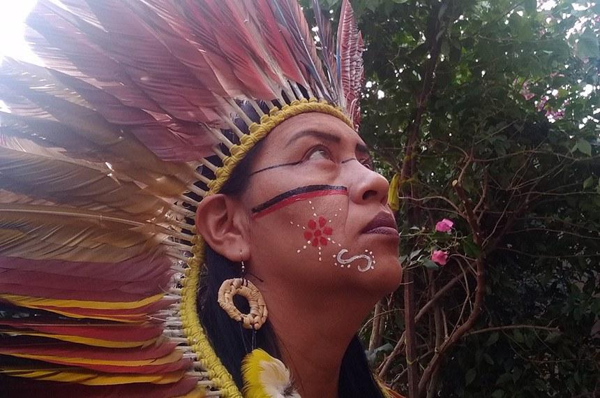 Val Eloy Terena, candidata a coprefeita de Campo Grande (MS) pelo Psol