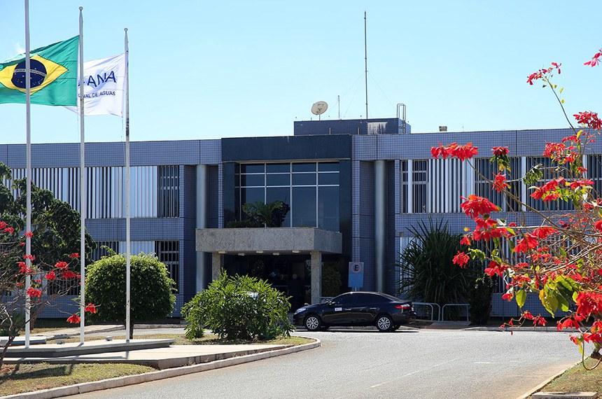Descrição da foto: Sede da ANA, Bloco M do Complexo Administrativo do SPO, em Brasília.  Crédito: Raylton Alves / Banco de Imagens ANA