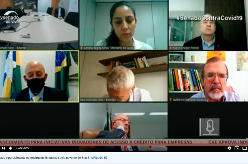 Em audiência da comissão mista que acompanha as medidas para o enfrentamento da pandemia, especialistas também recomendaram cautela quanto à limitação do tempo de testagem das fórmulas