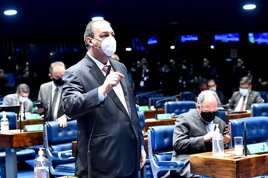 O senador Omar Aziz (PSD-AM) foi o relator da indicação de Jorge Oliveira para o cargo de ministro do TCU