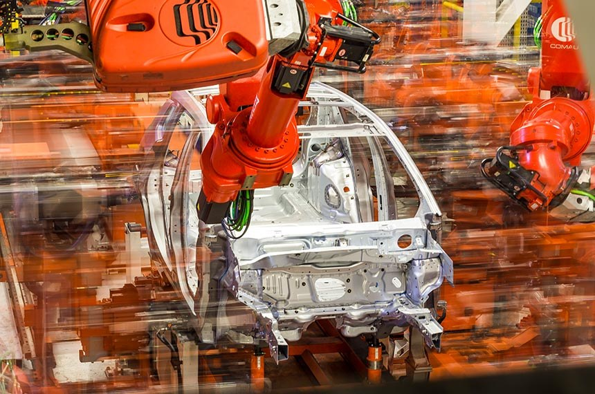 Fuilaria da linha de produção da FCA (Fiat Chrysler Automobiles) localizada em Goiana (PE).  Foto: Leo Lara