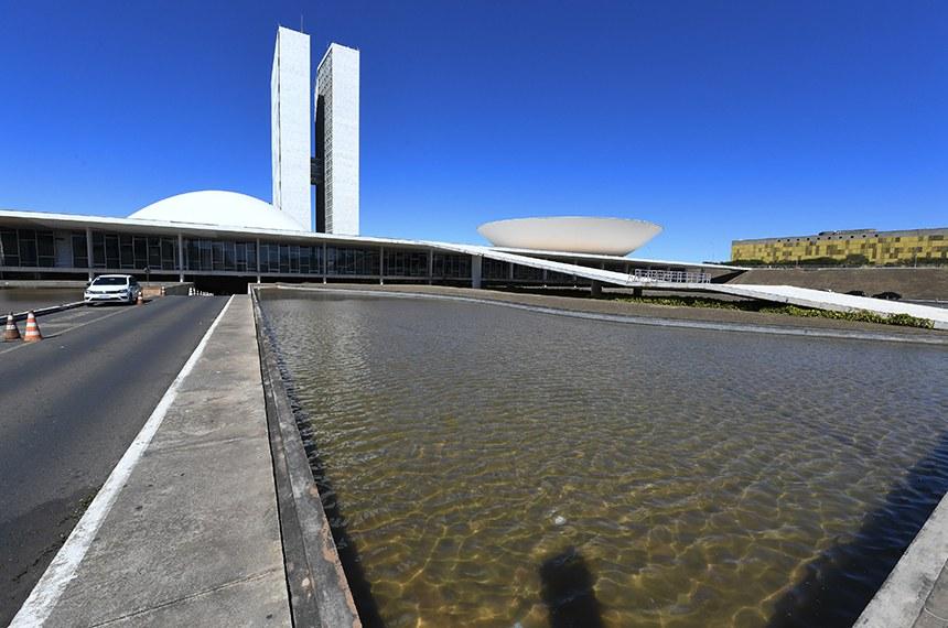 Imagens de Brasília - Fachada do Congresso Nacional.   Foto: Jefferson Rudy/Agência Senado