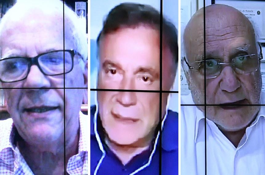 Oriovisto Guimarães, Alvaro Dias e Lasier Martins querem agilidade na votação de matérias já aprovadas no Senado