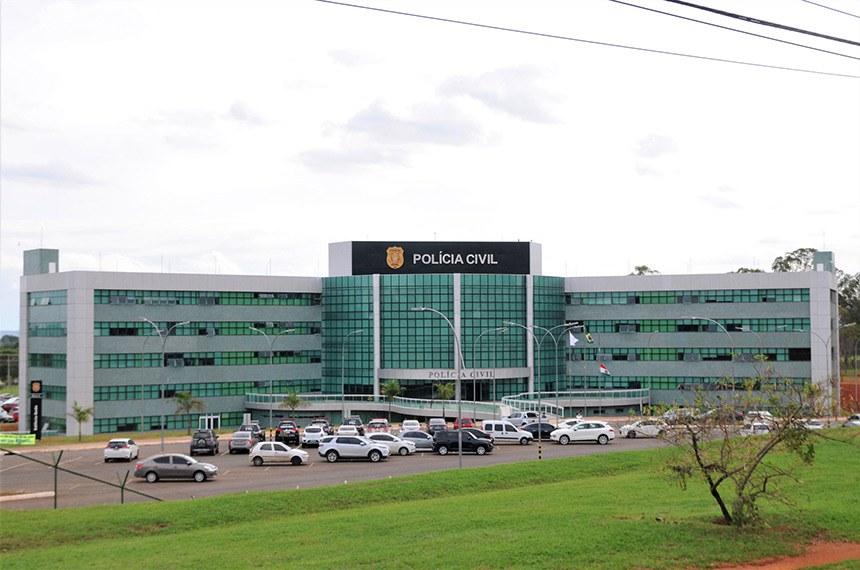 Edifício-sede da PCDF, em Brasília