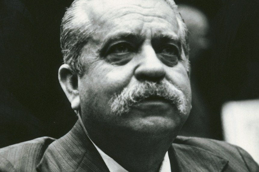 E-senador Vasconcelos Torres  Foto: Arquivo Senado Federal