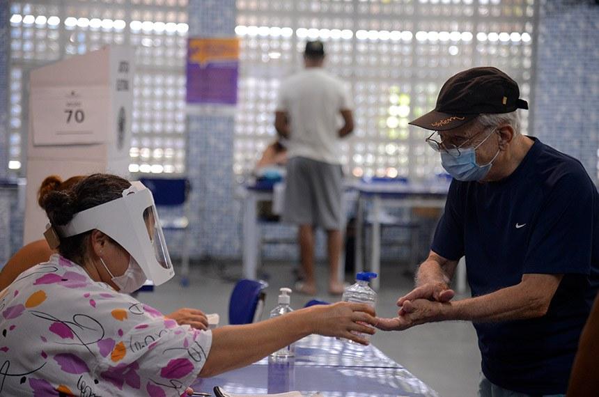 Eleitores do Rio de Janeiro votam para prefeito no segundo turno das eleições de 2020  Foto: Tomaz Silva/Agência Brasil