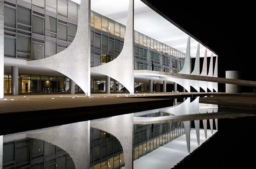 Brasília - DF, 19/07/2016. Fachada do Palácio do Planalto. Foto: Beto Barata/PR