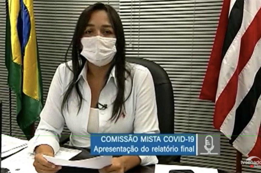 Eliziane Gama, vice-presidente da comissão, disse estar preocupada com o plano nacional de vacinação e a falta de coordenação na comunicação entre o governo federal e os entes federados