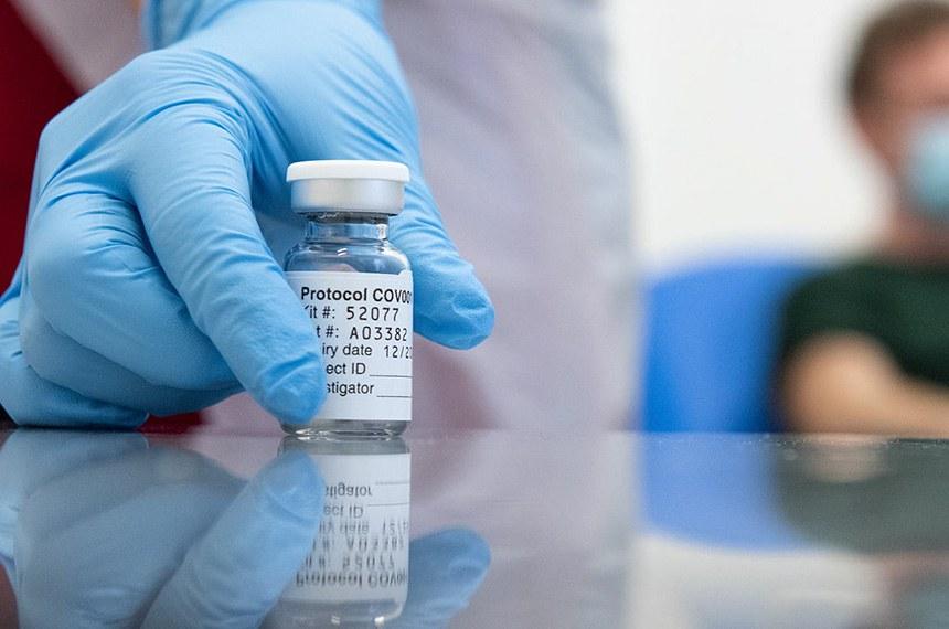 Teste com a Vacina para combater o coronavírus SARS-COV2, que provoca a Covid-19, da Universidade de Oxford em parceria com a AstraZeneca