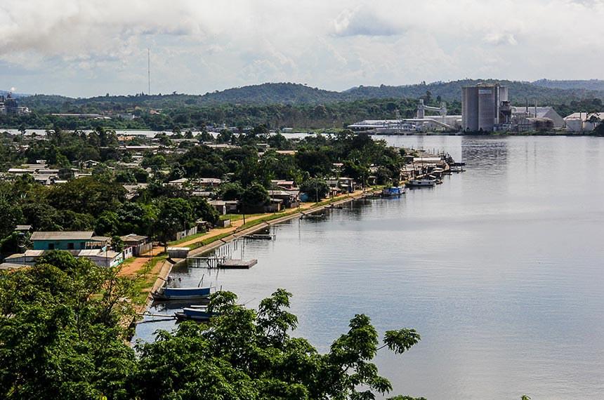 22.06.2017 Cidade de Vitória do Jari, no Amapá