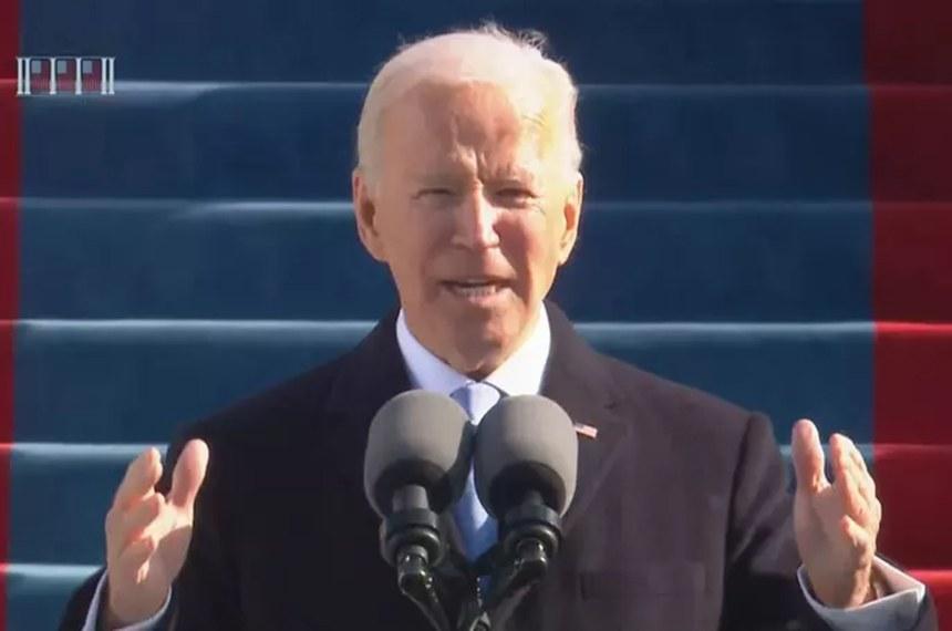 Em seu discurso, Joe Biden reforçou a união entre os povos e o combate ao extremismo e à violência