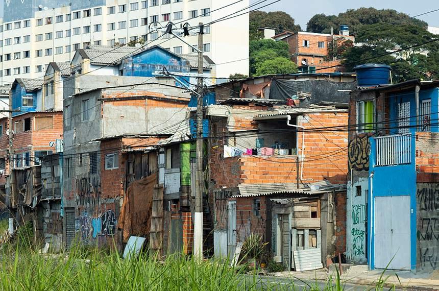 Favela em São Paulo (SP)